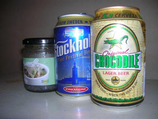 北欧ビールとニシンの酢漬け