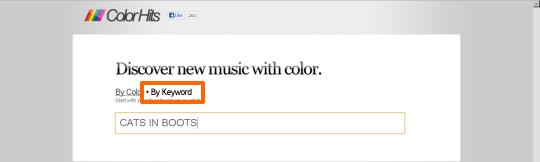 ColorHits キーワード検索