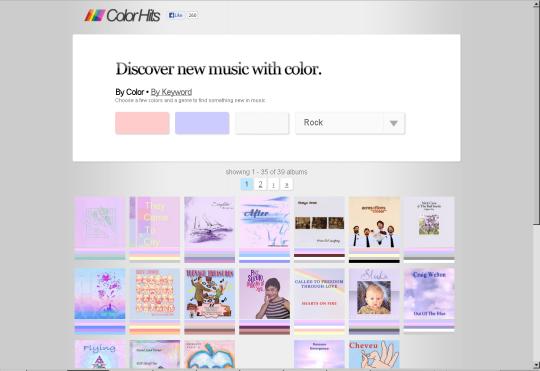 ColorHits ペールトーンのドミナントトーン