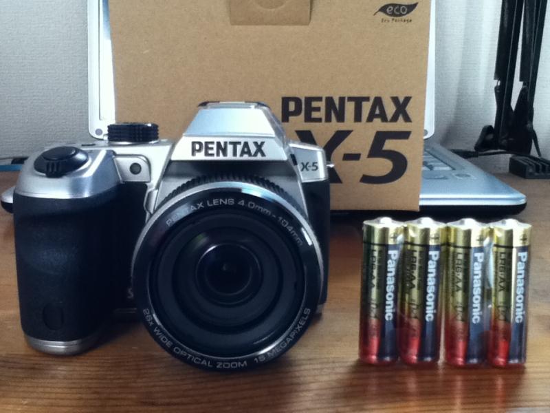 PENTAXのデジカメ『X-5』