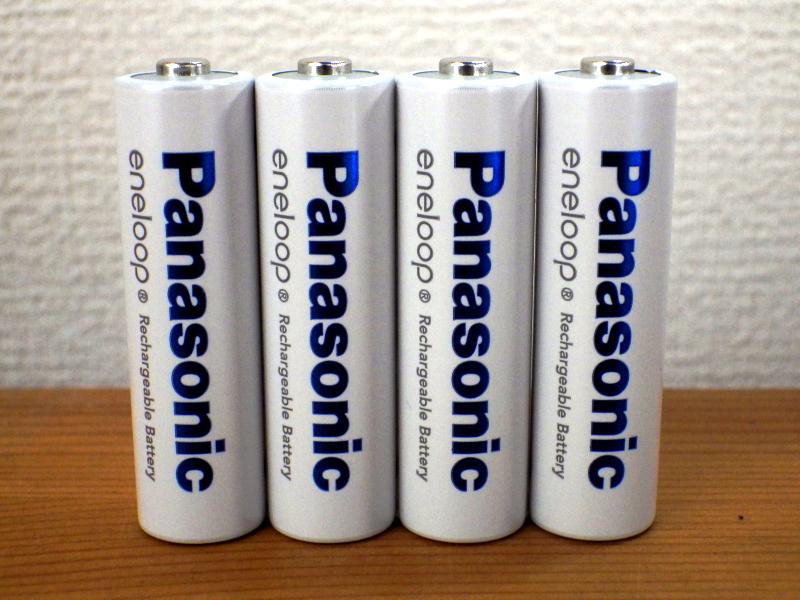 パナソニックの充電池『エネループ』
