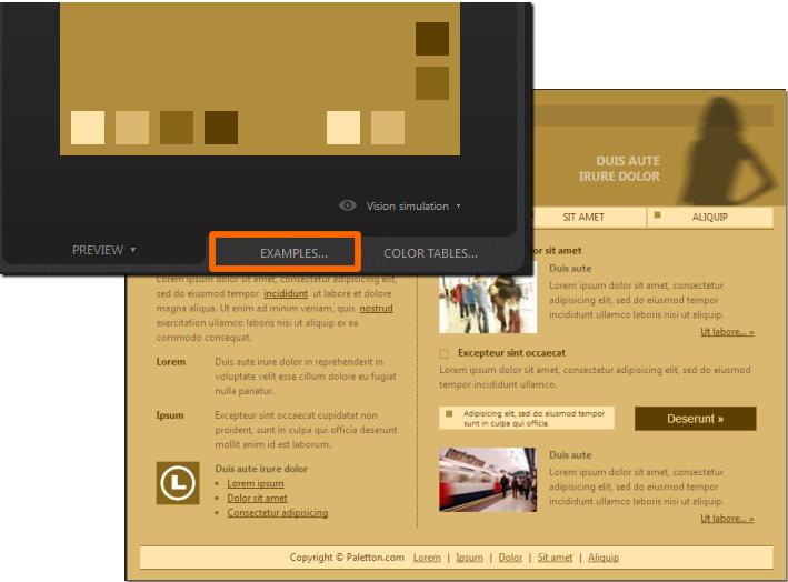 Webサイトに応用した場合の例を確認