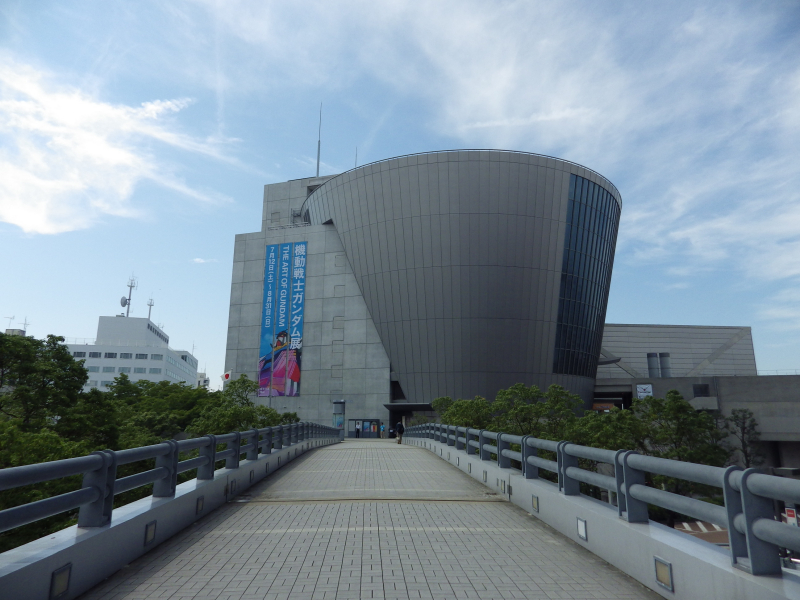 大阪文化館・天保山へ向かう遊歩道