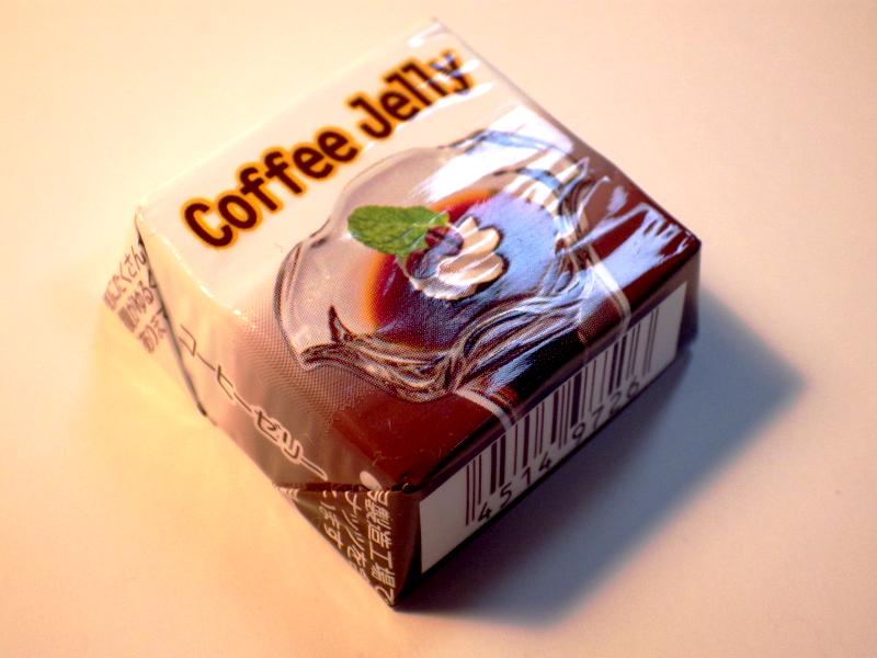 チロルチョコ「コーヒーゼリー」 の写真