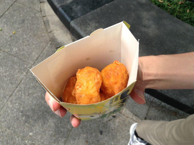 からあげクン広島レモン味の中身