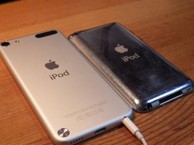 iPod touch4と5