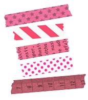 マスキングテープの並べ方例(色を統一)