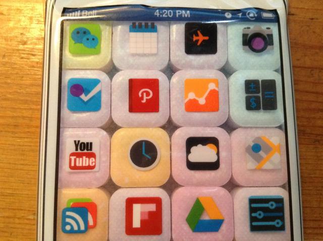 実在のアプリのアイコンと完全に一致