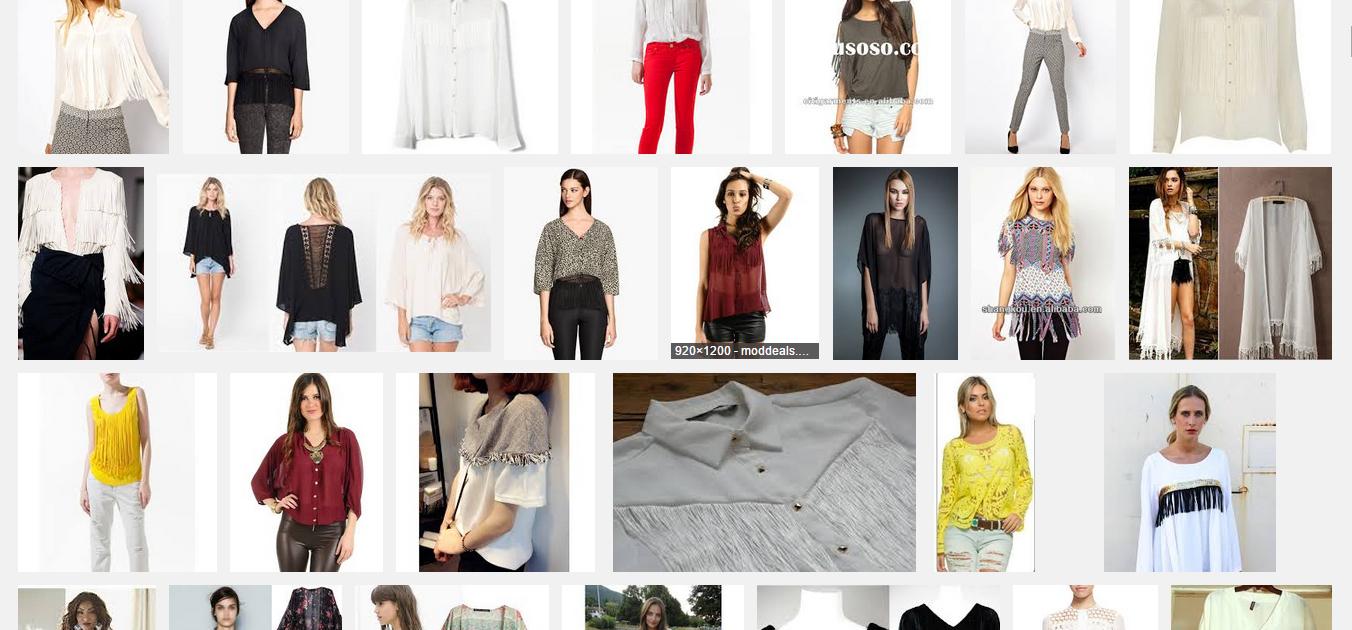 「fringed blouse」の画像検索結果