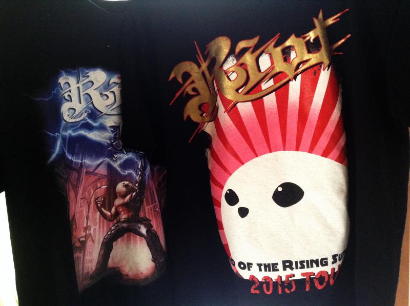 RIOT JAPAN TOUR2015 ツアーTシャツ