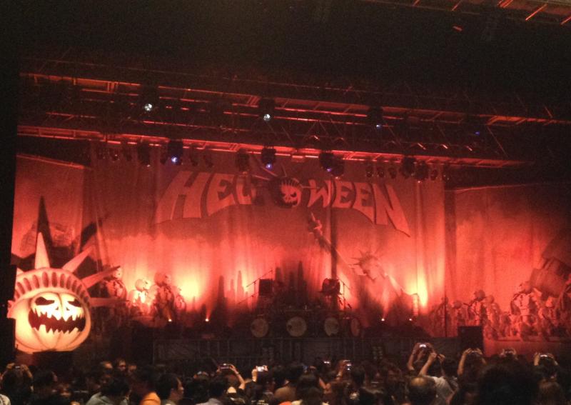 Helloween来日!2016年大阪公演(9月21日なんばHatch)の感想