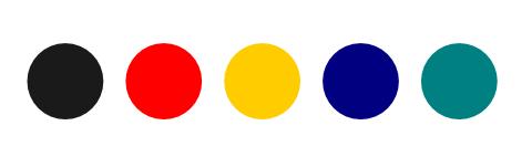バーゲンのイラスト使用色