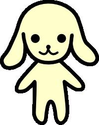 素材屋小秋 キャラクター
