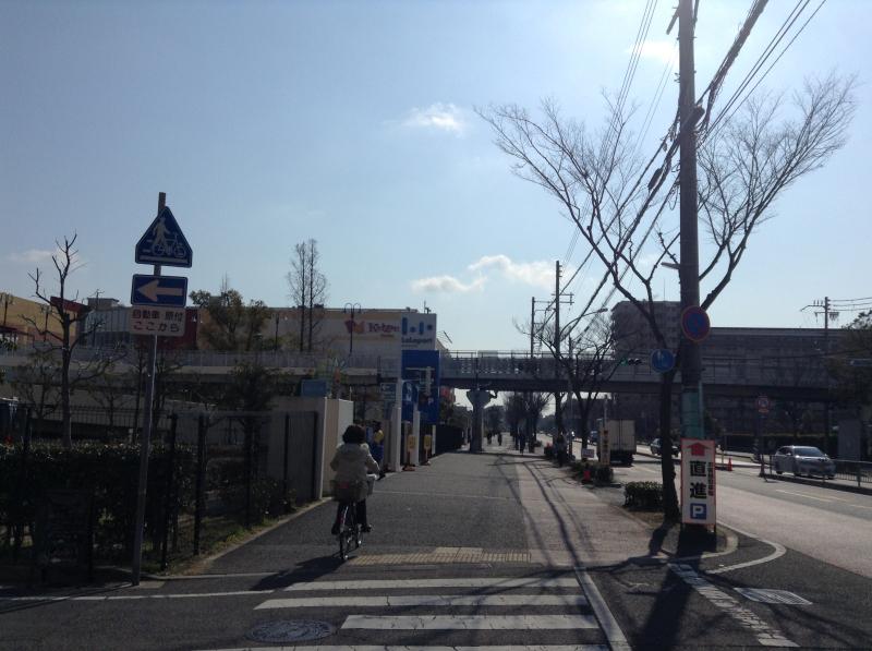 ららぽーと甲子園 陸橋