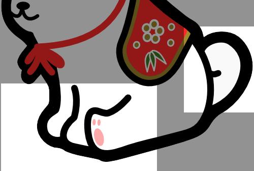 干支の置物の描き方
