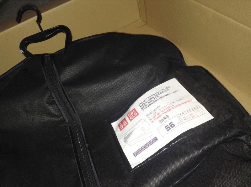 ユニクロ セミオーダースーツジャケット