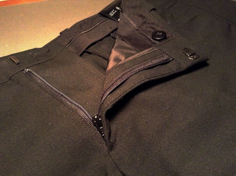 ユニクロ スーツ ストレッチパンツ